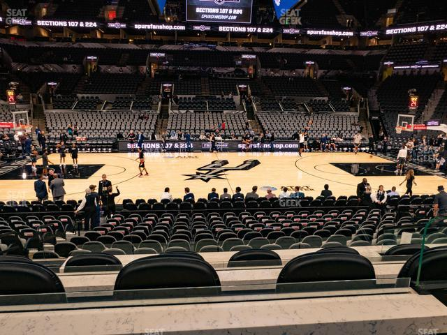 AT&T Center Box 5 view