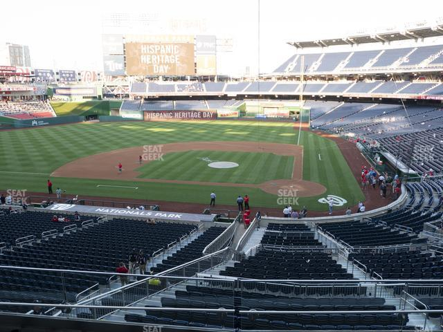Nationals Park Section 210 view