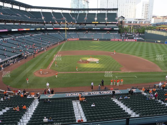 Oriole Park at Camden Yards Section 226 view