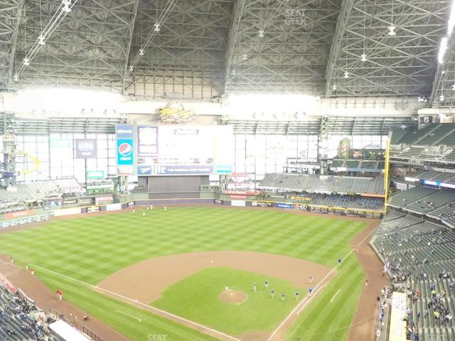 Miller Park Section 424 view