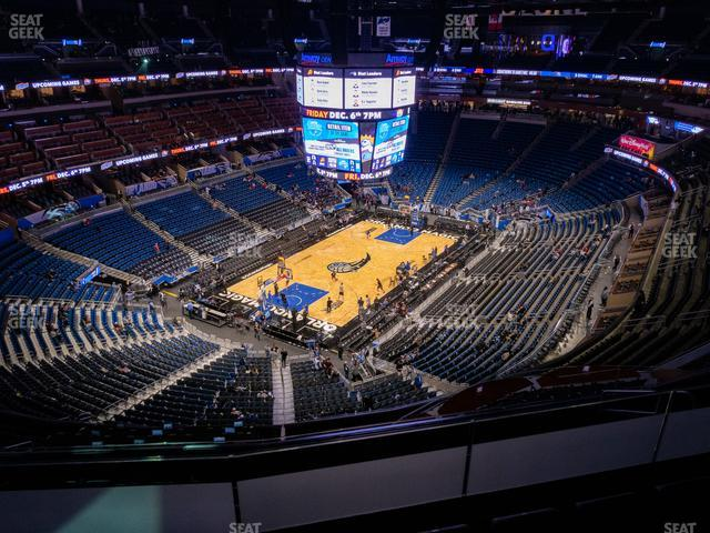 Amway Center Section 214 view