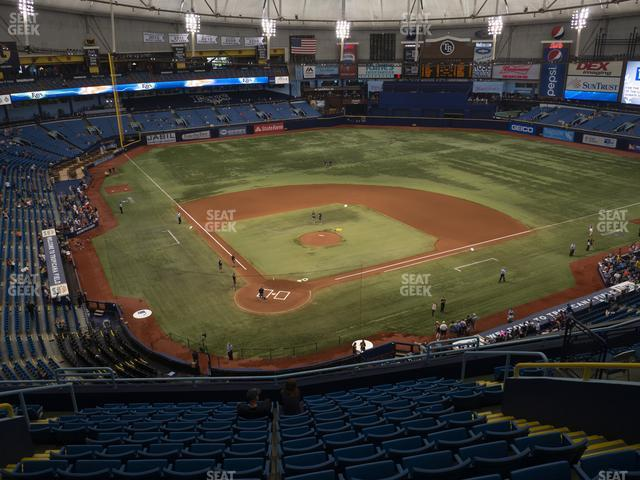 Tropicana Field Section 304 view
