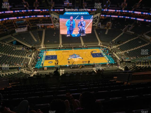 Spectrum Center Section 209 view