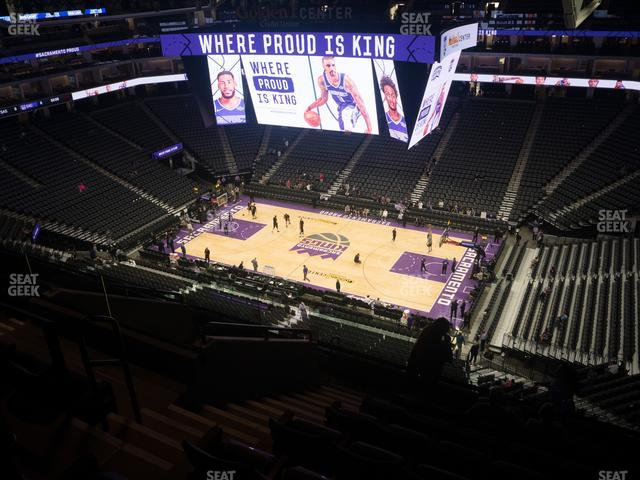 Golden 1 Center Section 203 view
