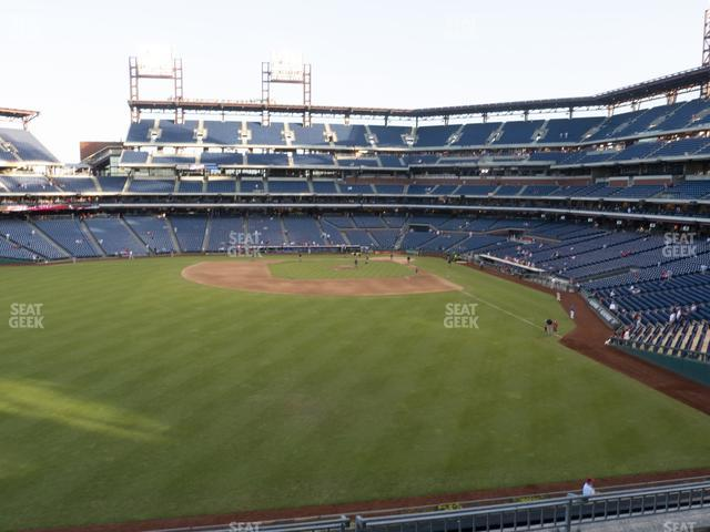 Citizens Bank Park Section 243 view
