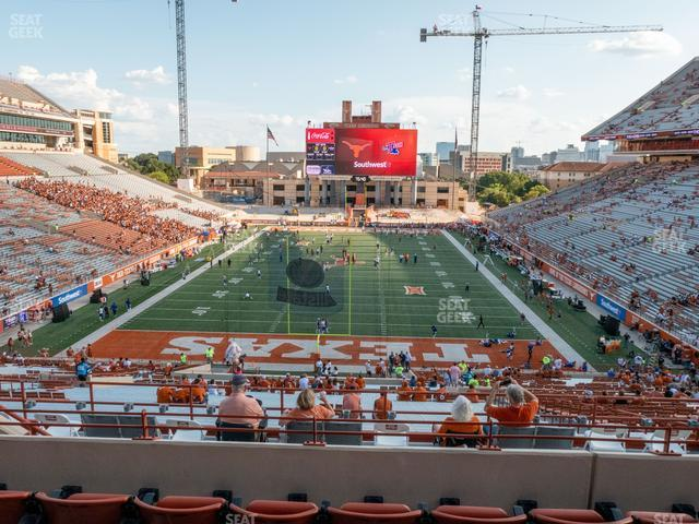 Darrell K Royal - Texas Memorial Stadium Terrace Club 16 view