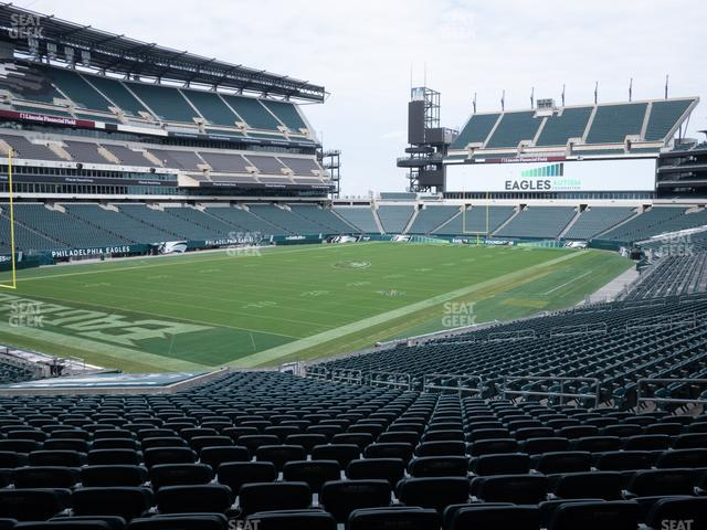 Lincoln Financial Field Section 113 view