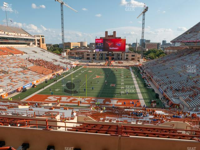 Darrell K Royal - Texas Memorial Stadium Touchdown Club 15 C view
