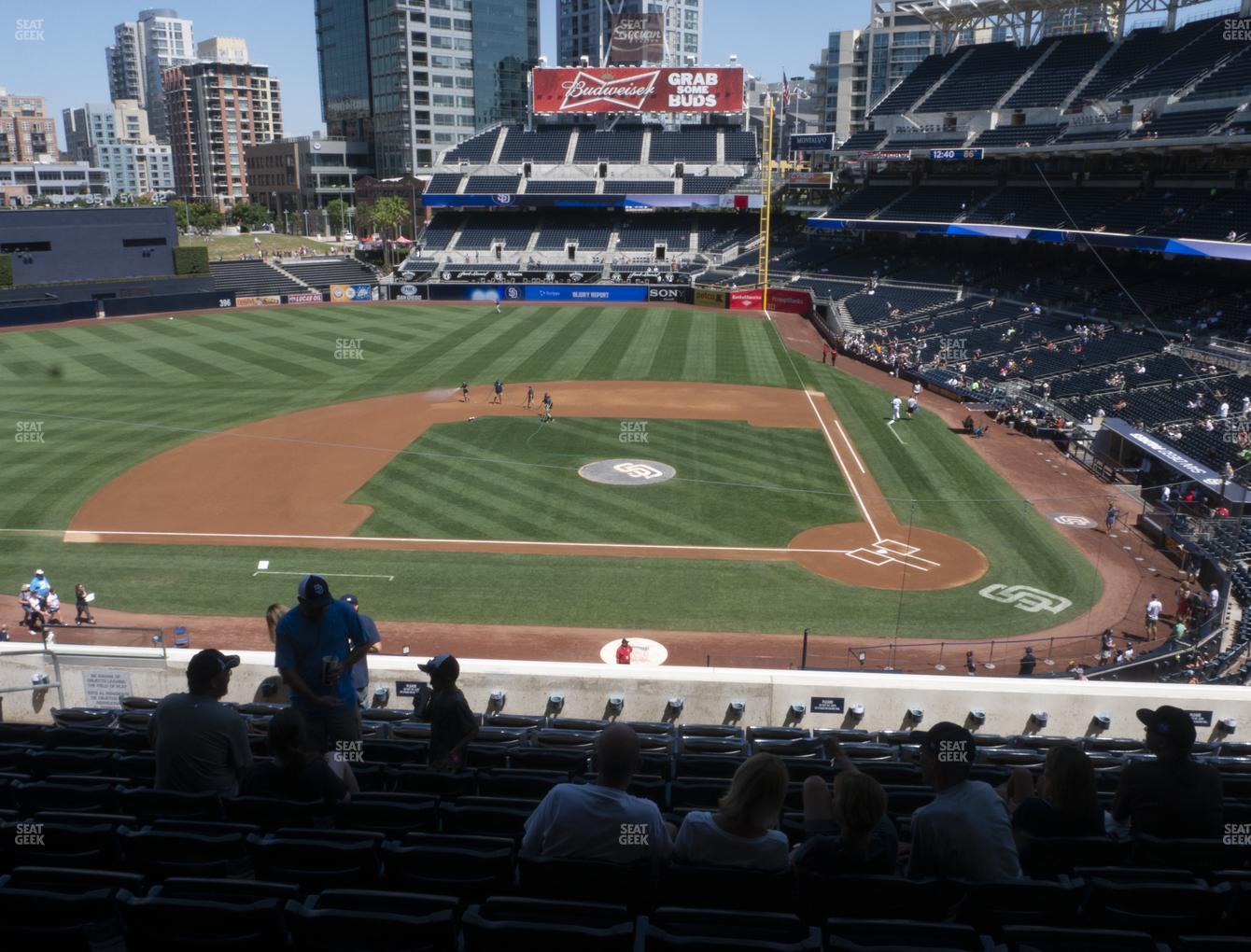 MLB at Petco Park Section 206 View