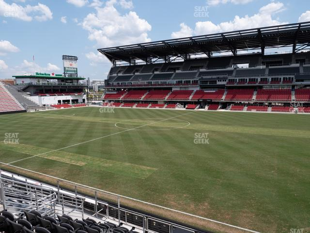 Audi Field Section 125 view