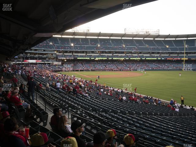 Angel Stadium of Anaheim Section 230 view