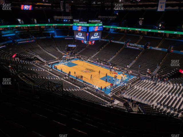 Chesapeake Energy Arena Section 305 view