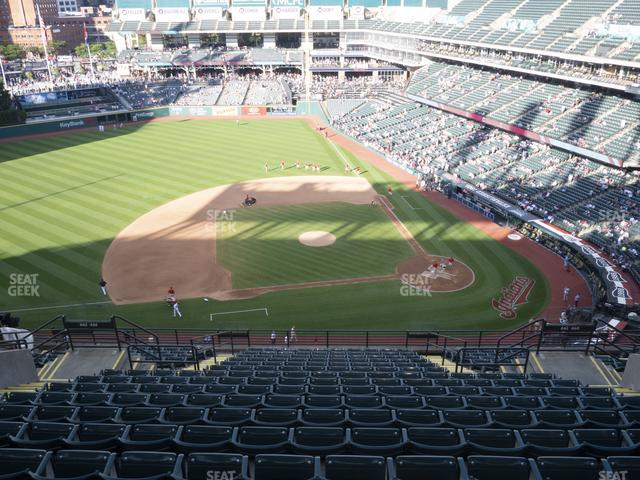 Progressive Field Section 561 view