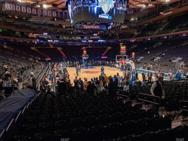 Madison Square Garden Section 7 view