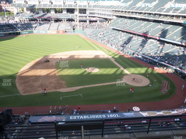 Progressive Field Section 463 view
