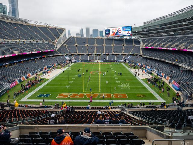 Soldier Field Section 322 view