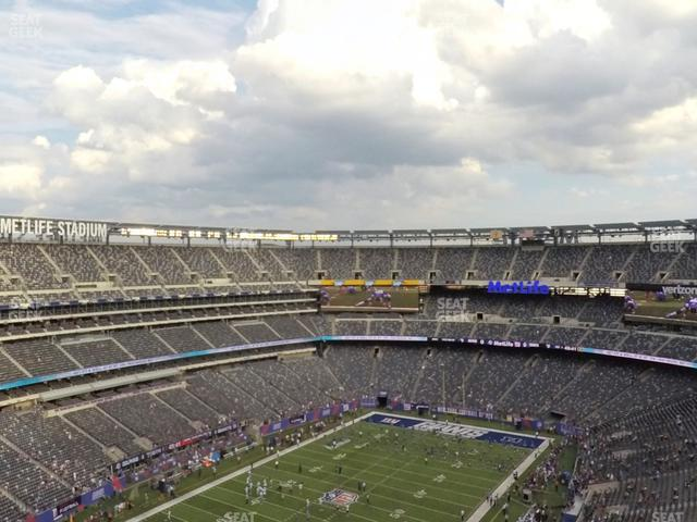 MetLife Stadium Section 346 view