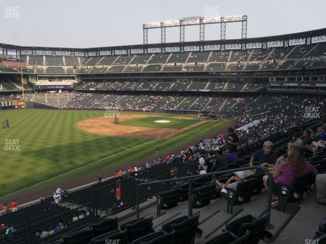 Coors Field Section 247 view