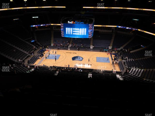 FedExForum Section 209 view