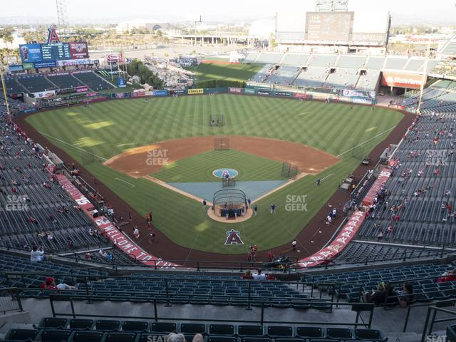 Angel Stadium of Anaheim Section 520 view