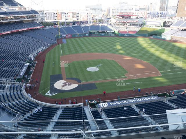 Nationals Park Section 317 view