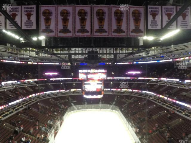 United Center Section 326 view