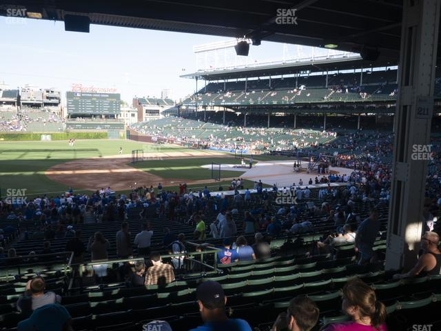 Wrigley Field Section 209 view