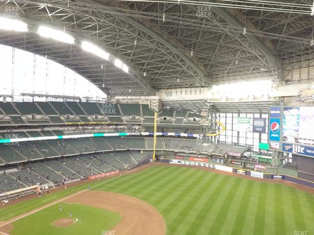 Miller Park Section 411 view