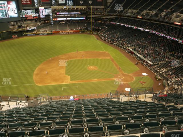 Chase Field Section 322 view