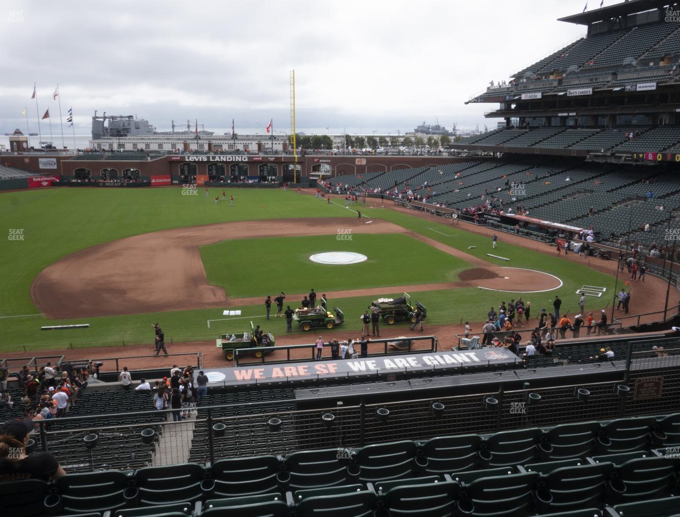 San Francisco Giants at Oracle Park Section 223 View