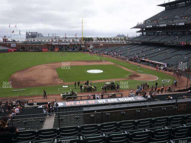 Oracle Park Section 223 view