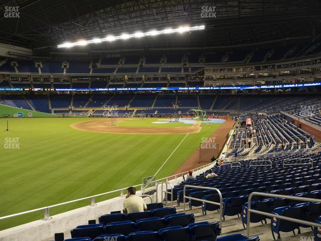 Marlins Park Section 28 view