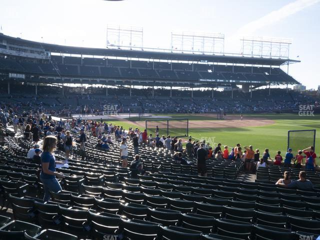 Wrigley Field Section 131 view