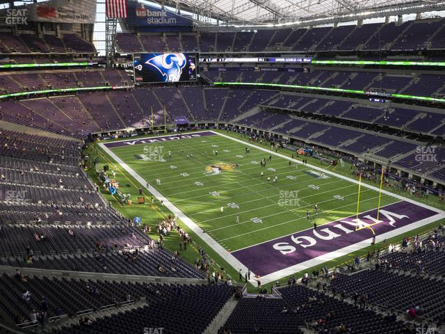 U.S. Bank Stadium Section 303 view