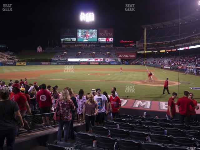 Angel Stadium of Anaheim Section 114 view