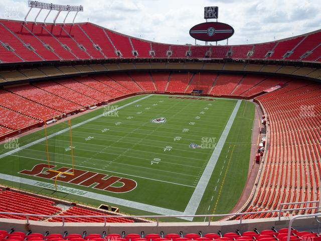 Arrowhead Stadium Section 333 view