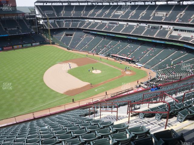Globe Life Park Section 315 view