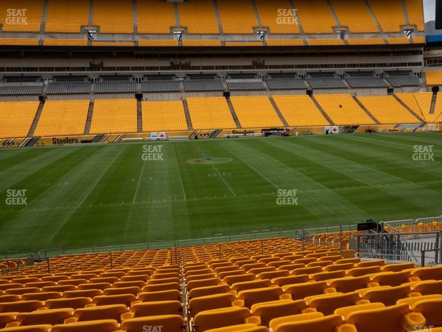 Heinz Field Section 110 view