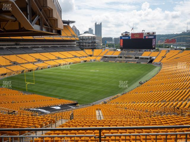 Heinz Field North Club 013 view