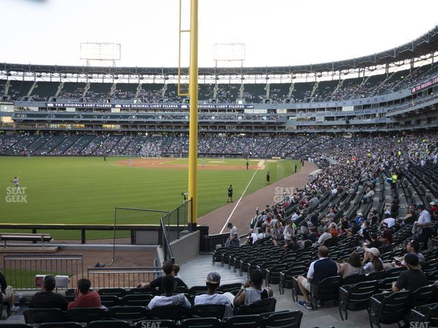 Guaranteed Rate Field Section 156 view
