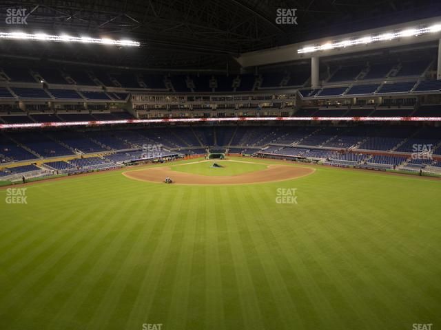 Marlins Park Section 134 view