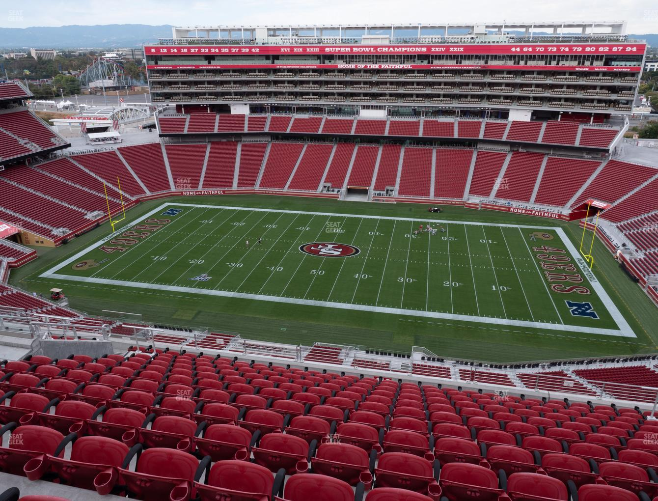 San Francisco 49ers at Levi's Stadium Section 410 View