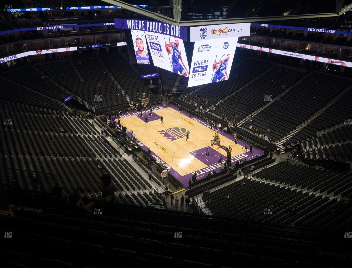 Golden 1 Center Seating Chart Kings Game Elcho Table
