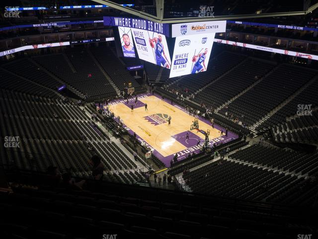 Golden 1 Center Section 201 view