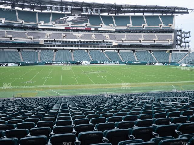 Lincoln Financial Field Section 118 view