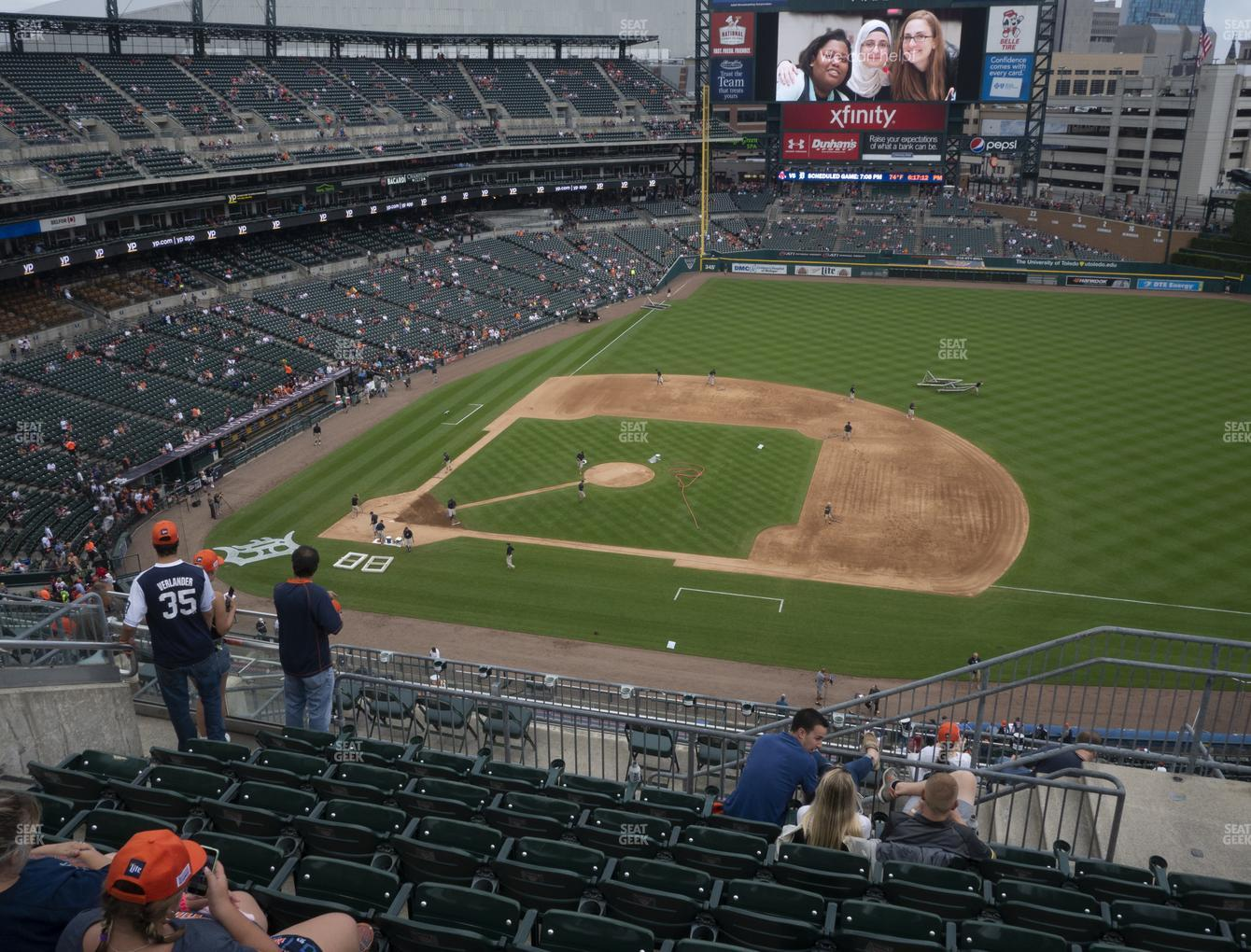 Detroit Tigers at Comerica Park Section 321 View