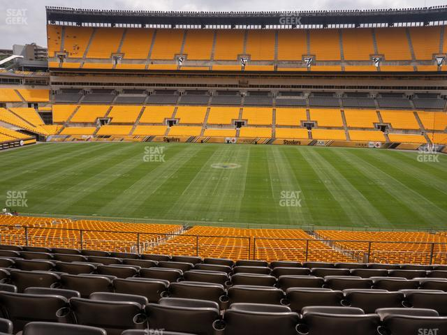 Heinz Field Section 235 view