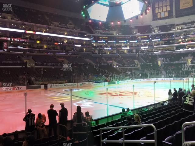 Staples Center Section 113 view