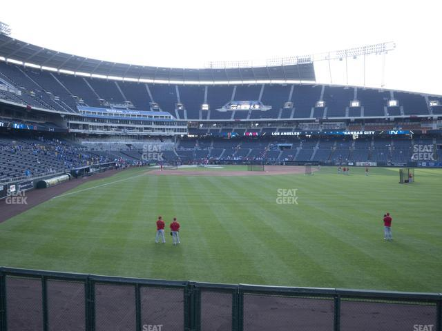 Kauffman Stadium Section 152 view
