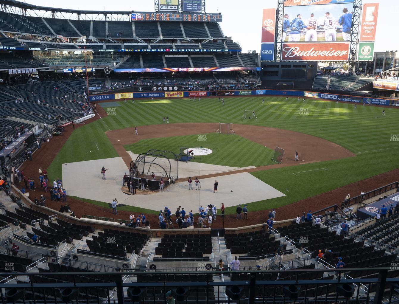 New York Mets at Citi Field Section 316 View